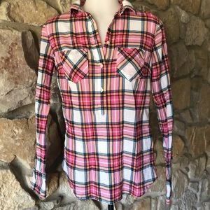 Merona spring plaid shirt